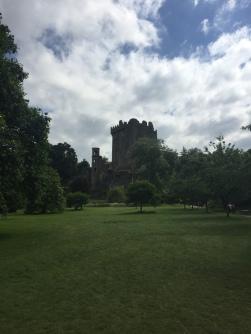 Blarney Castle and the surrounding garden