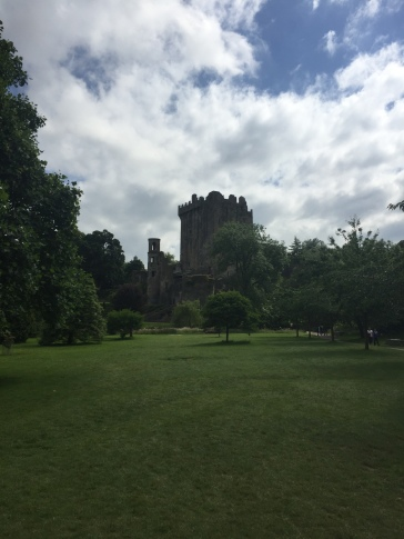 Blarney Castle and the surrounding garden