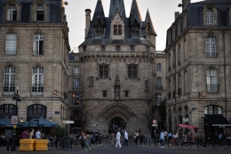 One of the many ancient gates to the old city of Bordeaux