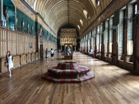 The interior of the great hall in the Chateau de Pierrefonds