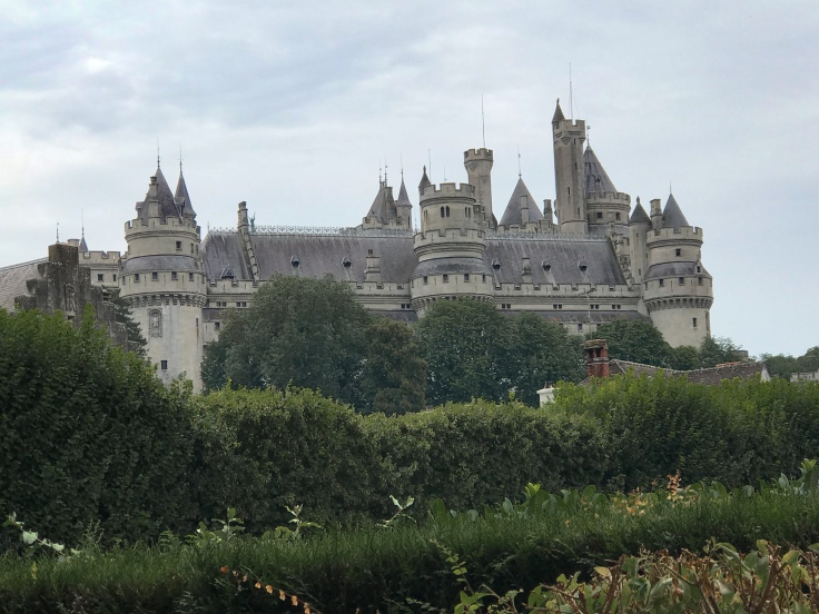 Chateau de Pierrefonds used as the castle and citadel of Camelot on Merlin in Piccardie, France